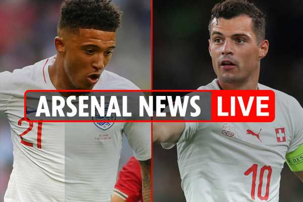 7.30am Arsenal news LIVE: Sancho nearly joined under Wenger, Xhaka injury, Emery wanted Monreal to face Spurs – The Sun