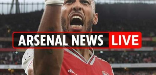 3.30pm Arsenal news LIVE: Deadly Aubameyang, Nottingham Forest build-up, Xhaka defended by Emery – The Sun