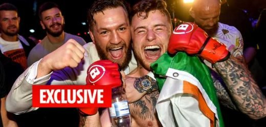 Conor McGregor impressed by team-mate James Gallagher after UFC star watches his Bellator win over Roman El Gallito Salazar in Dublin – The Sun