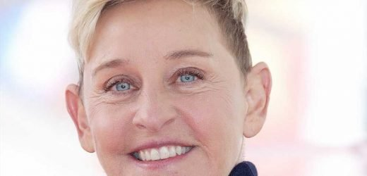 Ellen DeGeneres Just Shared a Picture of Her Natural Silver-Hued Hair