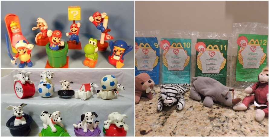 10 Incredibly Expensive McDonald's Toys…That Might Be Lying In Your Attic