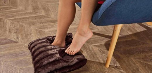 Lidl is selling a giant cushion slipper to thaw out cold feet this winter