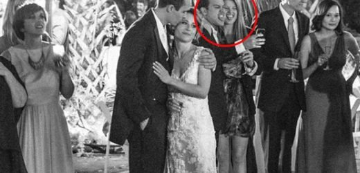 Wedding guests upstage the bride and groom by taking a daft selfie in the background of their photograph – The Sun