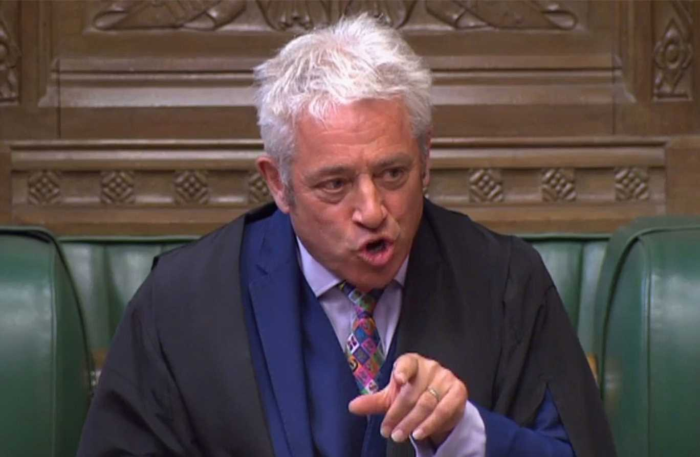 John Bercow accused of running a 'majoritarian dictatorship' and being 'irretrievably radicalised' after attack on BoJo – The Sun