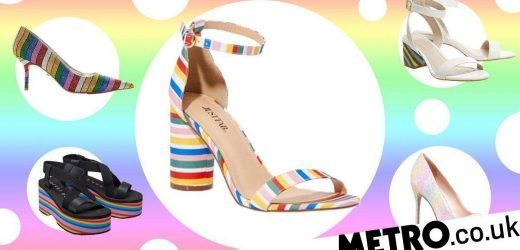 Rainbow heels are this season's hottest fashion trend – where can you get them?