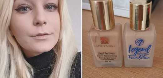 Beauty fans 'swear by' B&M's £3 dupe of Estee Lauder's £34 Double Wear foundation saying they 'can't tell the difference'