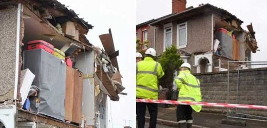 Family left homeless after their house COLLAPSES as builders carry out work on neighbouring property – The Sun