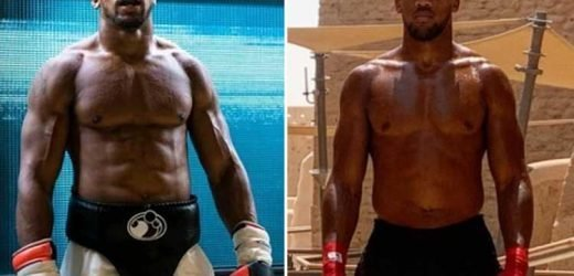 Fans stunned as 'shredded' Anthony Joshua shows off new look in Saudi Arabia ahead of Andy Ruiz Jr rematch – The Sun