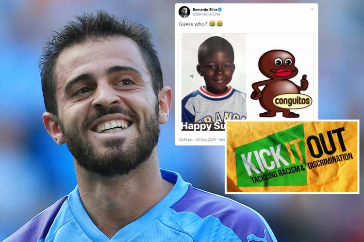Kick It Out slam Bernardo Silva for 'joke' aimed at Man City team-mate Benjamin Mendy – The Sun