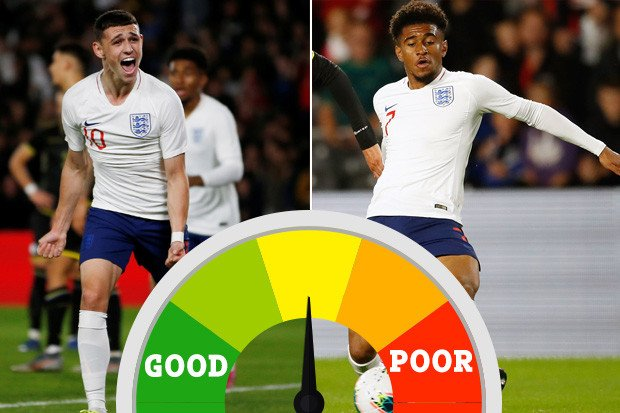 England U21 player ratings: Foden proves he should NEVER be dropped but Nelson has work to do – The Sun