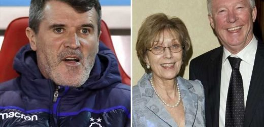 Roy Keane uses Sir Alex Ferguson's WIFE to make dig at his former Man Utd boss – The Sun