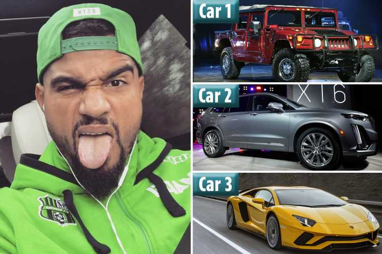 Kevin-Prince Boateng reveals he bought THREE cars in one day at Spurs 'to be happy' but admits he was 'an idiot' – The Sun