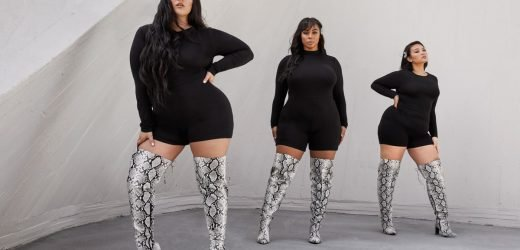 EXCLUSIVE: Blogger Nadia Aboulhosn Just Released Thigh-High Boots That Actually Fit Thick Legs