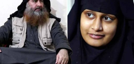 ISIS leader Baghdadi calls for fighters to spring thousands of jihadis and jihadi brides like Shamima Begum from Syrian prison camps – The Sun
