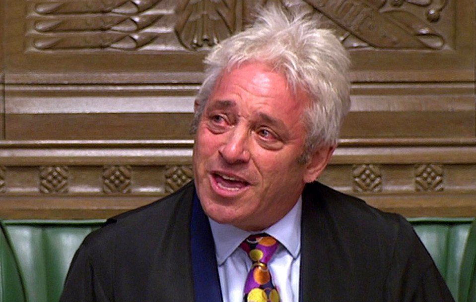 Did John Bercow sprinkle drops of water under his eyes before tearful goodbye to fawning Remainer MPs?