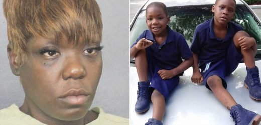 Florida mom charged after two sons drown in pool
