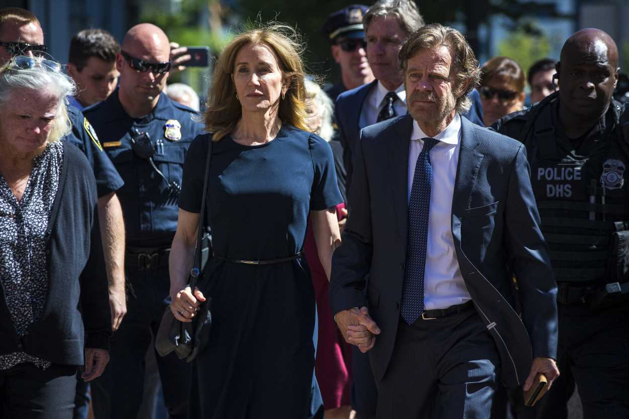 Felicity Huffman reacts to 14-day prison sentence in admissions scandal: 'There are no excuses'