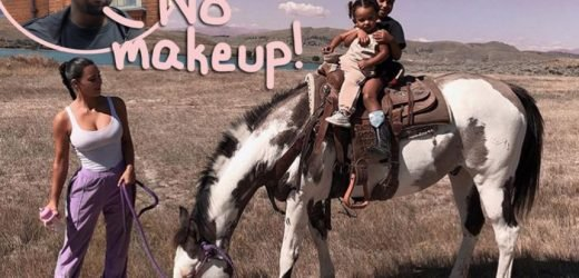 Kim Kardashian 'Got In Trouble' With Kanye West For Putting Makeup On Daughter North! Uh-Oh!