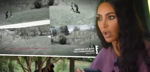 See 'Kris Jenner' Get Tackled by Bodyguard in 'Dirty Prank' on Kim Kardashian