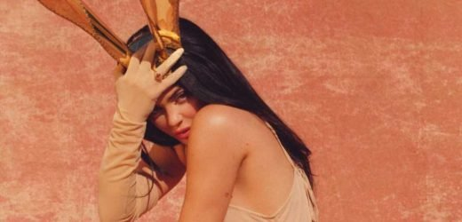 Kylie Jenner poses as a Playboy bunny in steamy shoot