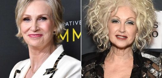 Jane Lynch and Cyndi Lauper Developing TV Show That's a 'Golden Girls for Today'