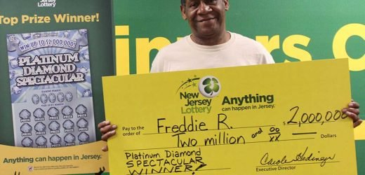 New Jersey Man Wins $250K in Lottery Just 2 Years After Winning $2M
