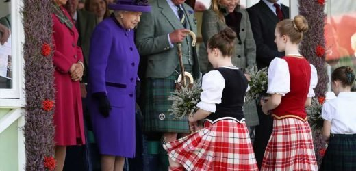 Queen Elizabeth, Prince Charles and Camilla Bundle Up for One of Her Favorite Outings in Scotland