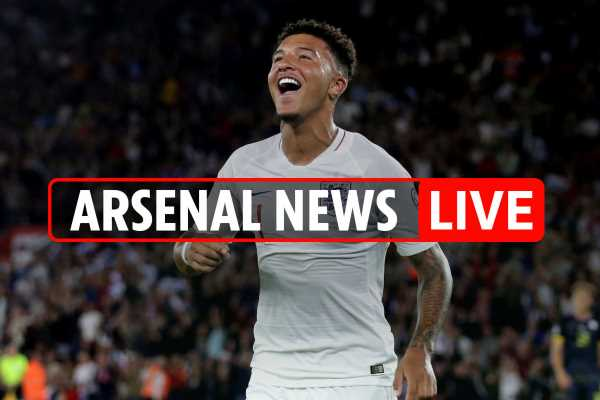 10.20pm Arsenal news LIVE: Sancho nearly joined under Wenger, Emery wanted Monreal to face Spurs, Carrasco could join in January – The Sun