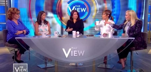 Meghan McCain Storms Off The View Set After Argument with Ana Navarro on Whistleblowers