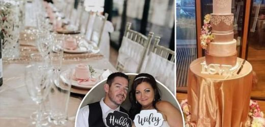 Savvy bride reveals how she saved £20k to pull off the ultimate budget £10k wedding using Kmart decorations – The Sun
