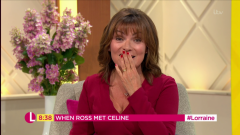 Lorraine Kelly admits she 'nearly swore' as Martin Lewis' weird singing interrupts her show live on air