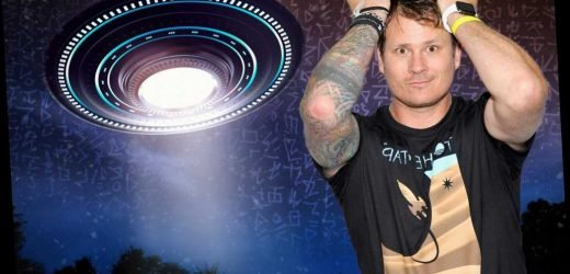 Alien hunters led by Blink-182's Tom DeLonge claim they've found UFO material