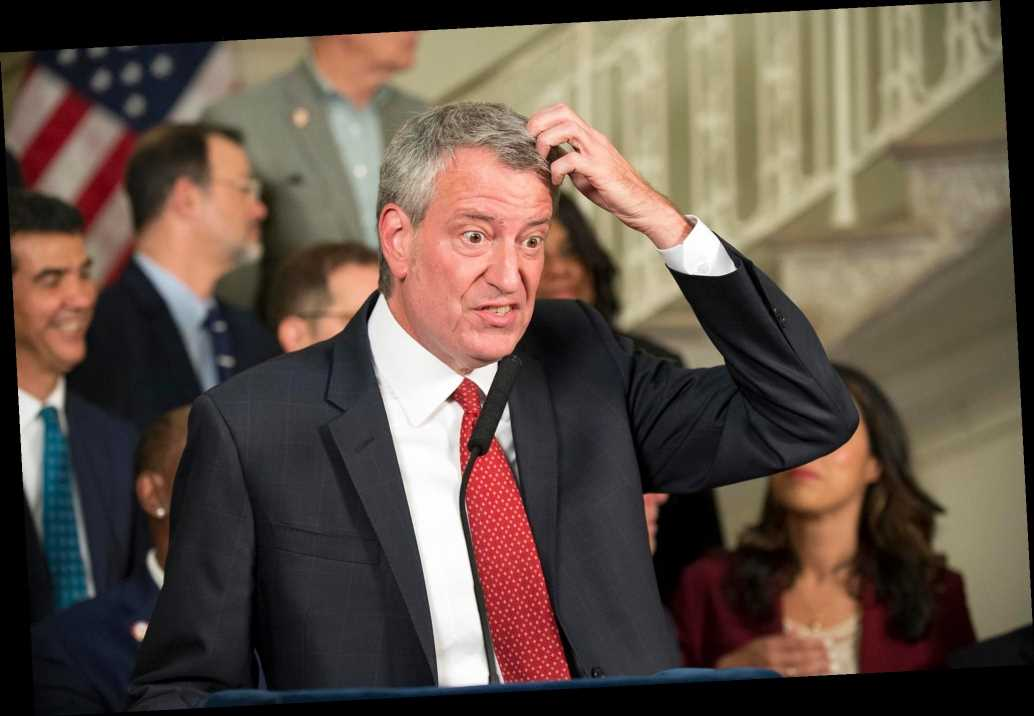 The dirty bottom line on de Blasio's pathetic presidential bid