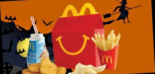 McDonald's is giving away 200 free Happy Meals for Halloween