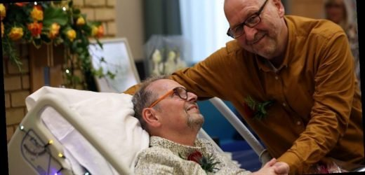 Couple renew vows in emotional ceremony as groom faces terminal cancer diagnosis