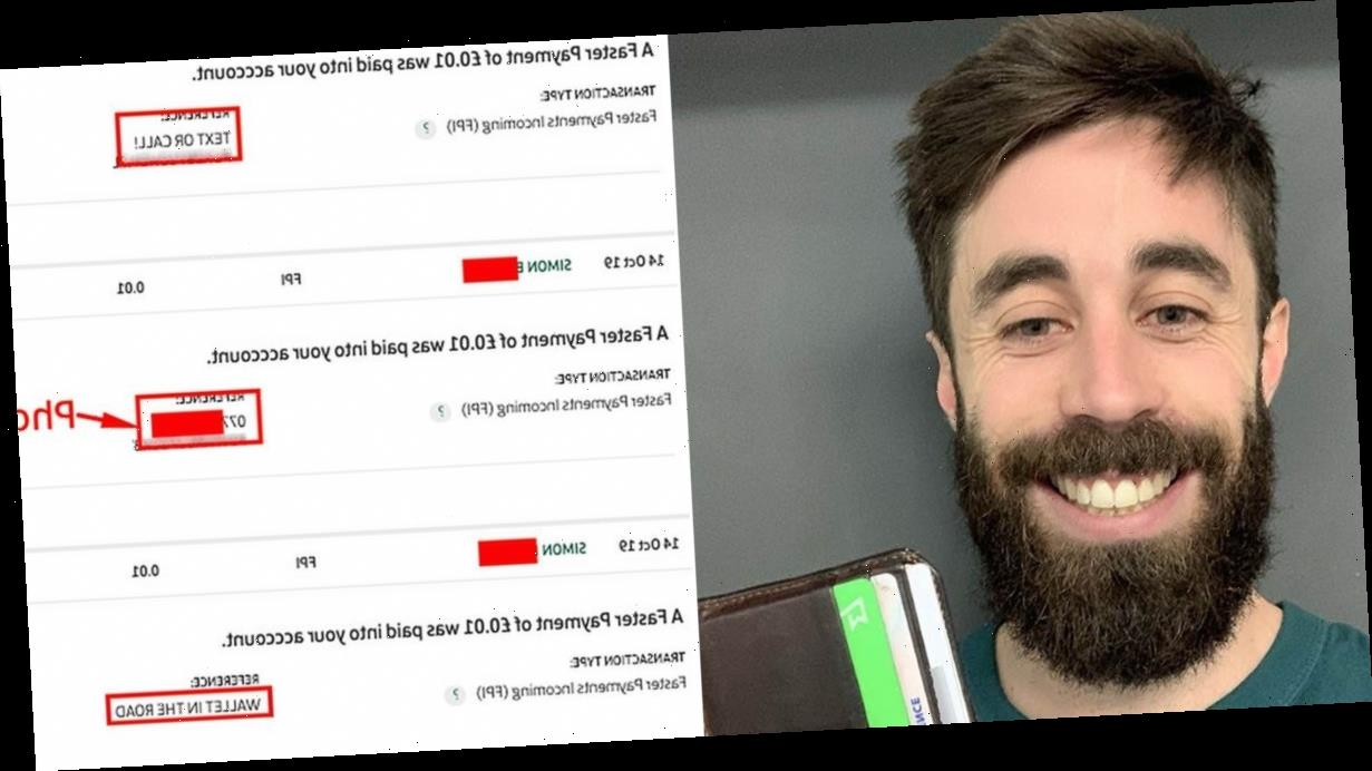 Stranger who found man's lost wallet used genius bank hack to get it back to him
