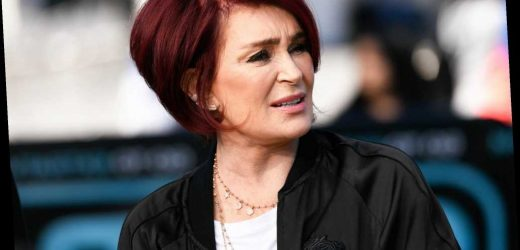 Sharon Osbourne still can't totally feel her mouth after face lift this summer