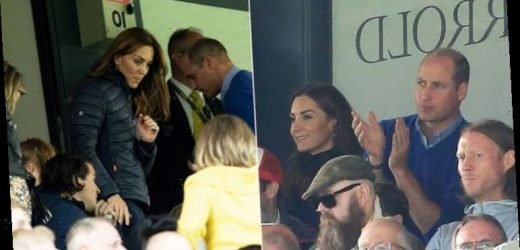 Kate Middleton: Duchess cuts casual figure at football match with Prince William & George