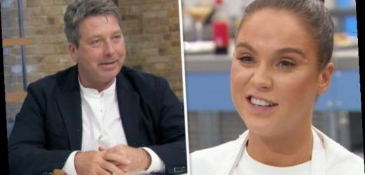 Celebrity MasterChef: John Torode stunned as Vicky Pattinson lunges at him – did you see?