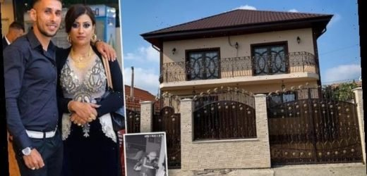 The mansion built by Romanian crime boss who burgled British homes