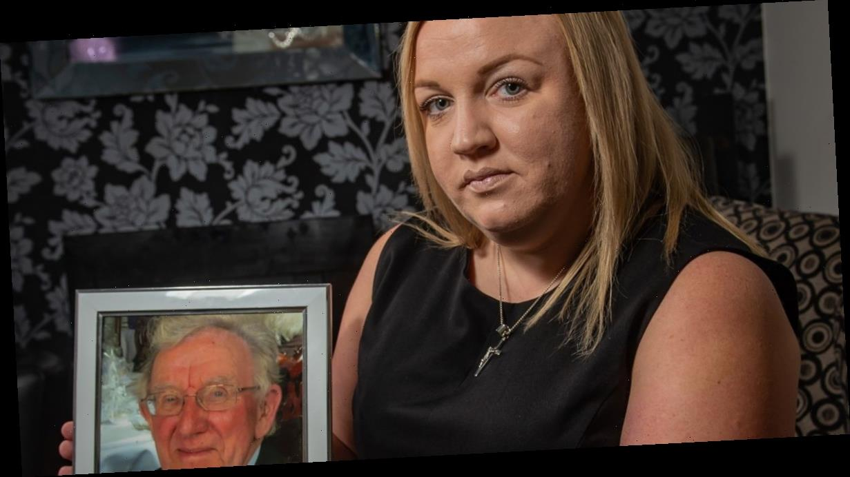 Daughter slams NHS after dad died 'sliding off trolley left in A&E for 6 hours'