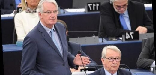 Post-Brexit trade deal could take YEARS to agree, says Michel Barnier