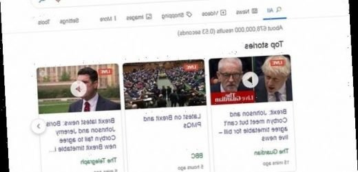 Google is facing claims of an anti-Brexit bias with web searches