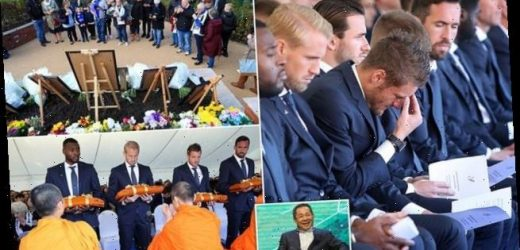 Leicester stars pay tribute to owner Vichai Srivaddhanaprabha