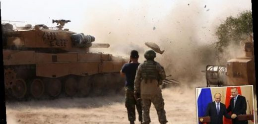 Syrian and Turkish armies exchange fire – first time since incursion