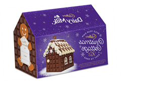 Cadbury Released A Version Of Gingerbread Houses That's Just Straight Up Chocolate