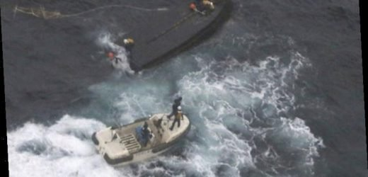Japan searches for North Korean fishermen after boat collision