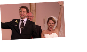Jim & Pam's Wedding On 'The Office' Almost Had A Super Dark Ending