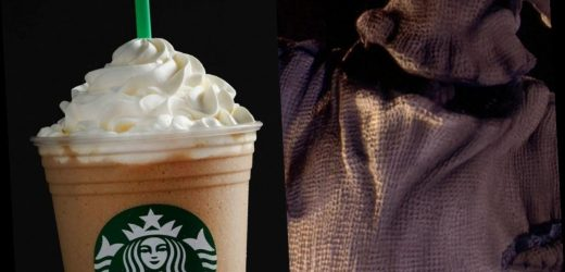 "Starbucks Has A Secret ""Oogie Boogie"" Frapp With Whipped Cream On The Bottom"