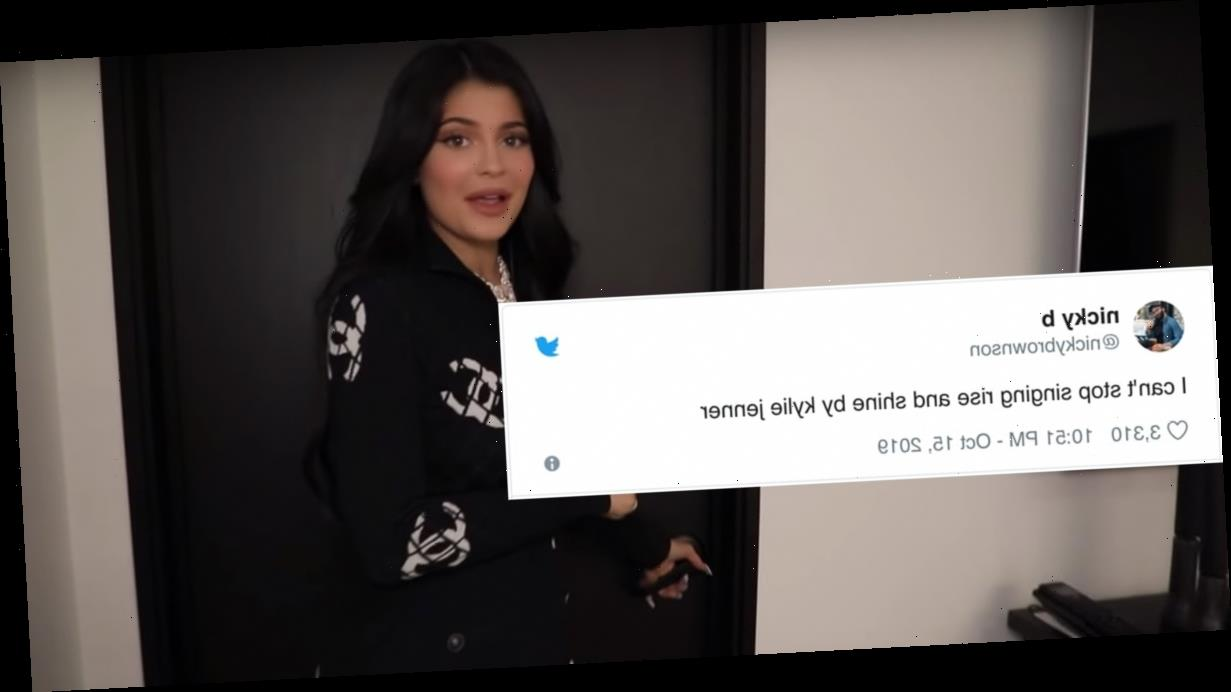 """Kylie Jenner Singing """"Rise and Shine"""" to Stormi Is Sending the Internet Into a Full Tailspin"""